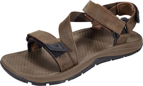 Zapatos marrones con velcro casual Columbia Monterosso para hombre Ph98HTW1h